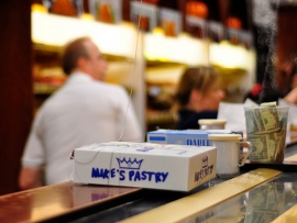 Mike's Pastry (Image Credit: Kimberly Vardeman)