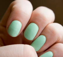 Mint Nails (Image Credit: Katie Brady)