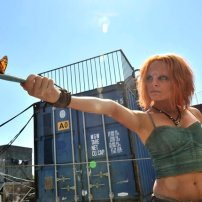 Stephanie Leonidas as Irisa in DEFIANCE (Image Credit: Ben Mark Holzberg/Syfy)