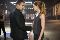 Shailene Woodley and Theo James in DIVERGENT (Image Credit: Jaap Buitendijk / Summit Entertainment)