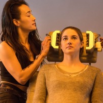 Maggie Q and Shailene Woodley in DIVERGENT (Image Credit: Jaap Buitendijk / Summit Entertainment)
