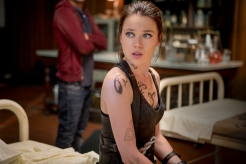 Jemima West as Isabelle Lightwood in THE MORTAL INSTRUMENTS: CITY OF BONES (Image Credit: 2013 Constantin Film International GmbH and Unique Features (TMI) Inc.)