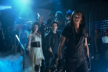Jemina West as Isabelle Lightwood, Kevin Zegers as Alec Lightwood, Jamie Campbell Bower as Jace Wayland (Image Credit: 2013 Constantin Film International GmbH and Unique Features (TMI) Inc.)