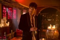 Godfrey Gao as Magnus Bane in THE MORTAL INSTRUMENTS: CITY OF BONES (Image Credit: 2013 Constantin Film International GmbH and Unique Features (TMI) Inc.)
