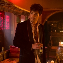 Godfrey Gao as Magnus Bane in THE MORTAL INSTRUMENTS: CITY OF BONES (Image Credit: 2013 Constantin Film International GmbH and Unique Features (TMI) Inc.)