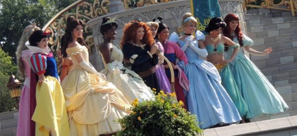 Disney Princesses (Image Credit: Candace Lindemann)