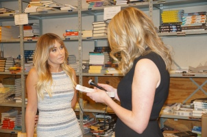 Lauren Conrad and Daily Quirk Blogger Kelsey Murray (Image Credit: Courtney McManus)