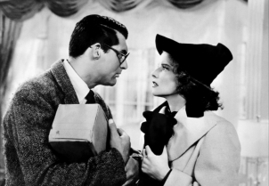 Cary Grant and Katharine Hepburn in BRINGING UP BABY (Image Credit: RKO Radio Pictures)