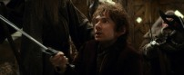 Martin Freemana as Bilbo Baggins in THE HOBBIT: THE DESOLATION OF SMAUG (Image Credit: Warner Bros)