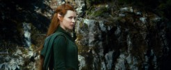 Evangeline Lilly as Tauriel in THE HOBBIT: THE DESOLATION OF SMAUG (Image Credit: Warner Bros)