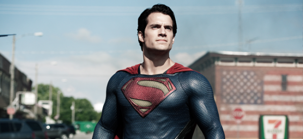 Henry Cavill as Superman in MAN OF STEEL (Image Credit: Clay Enos / Warner Bros.)