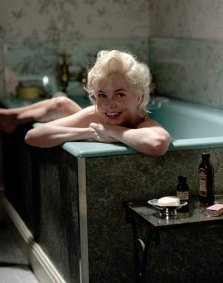 Michelle Williams as Marilyn Monroe in MY WEEK WITH MARILYN (Image Credit: The Weinstein Company)