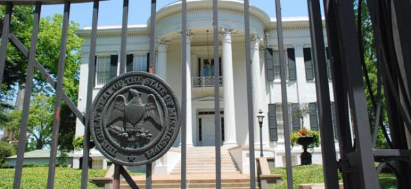 Mississippi Governor's Mansion (Image Credit: J R Gordon)