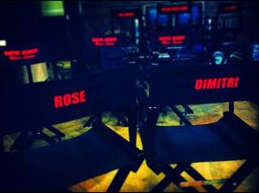 VAMPIRE ACADEMY Set (Image Credit: Zoey Deutch Twitter)