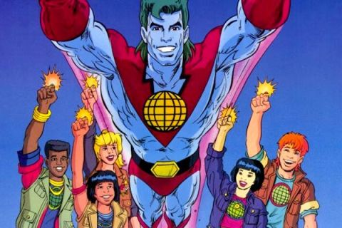 CAPTAIN PLANET AND THE PLANETEERS (Image Credit: Hanna-Barbera Productions)
