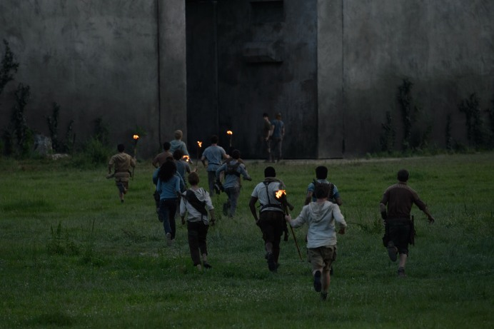 THE MAZE RUNNER (Image Credit: Ben Rothstein / 20th Century Fox)