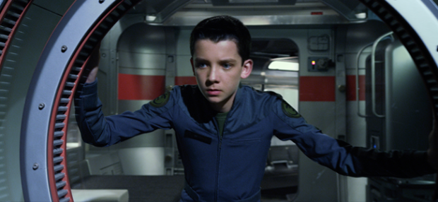 Asa Butterfield in ENDER'S GAME (Image Credit Summit Entertainment)