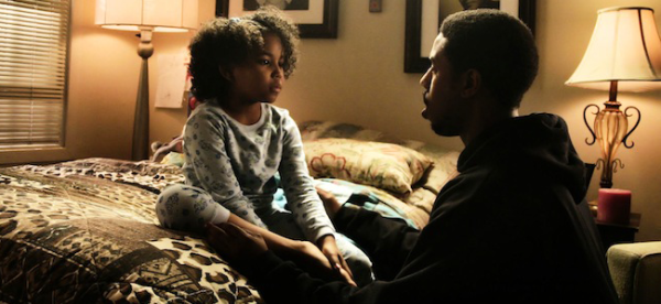 Ariana Neal as Tatiana and Michael B. Jordan as Oscar Grant in FRUITVALE STATION (Image Credit: The Weinstein Company)