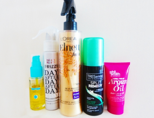Hair Smoothing Products (Image Credit Abigail Brown)