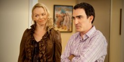 Lauren Bowles and Husband Patrick Fischler in CURB YOUR ENTHUSIASM (Image Credit: HBO)