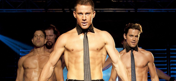 Kevin Nash, Adam Rodriguez, Channing Tatum, and Matt Bomer in MAGIC MIKE (Image Credit: Claudette Bariu / Warner Bros.)