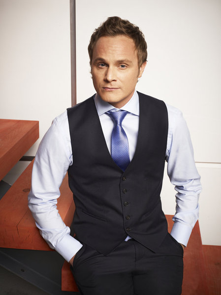 David Anders as Troy Cutler in NECESSARY ROUGHNESS (Image Credit: James White/USA Network)