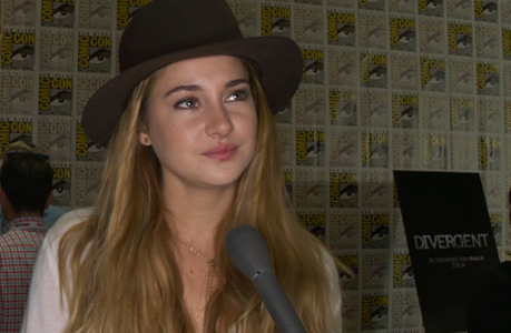 Shailene Woodley at San Diego Comic-Con (Image Credit: Summit Entertainment)