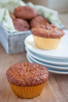 Gwyneth Paltrow's Sweet Potato and Five Spice Muffins (Image Credit: Jenny @ BAKE)