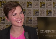 'Divergent' Author Veronica Roth at San Diego Comic-Con (Image Credit: Summit Entertainment)