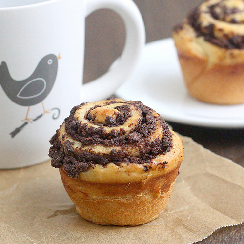 Chocolate Swirl Buns (Image Credit: Tracey's Culinary Adventures)
