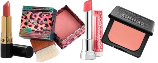 The Best Coral Makeup