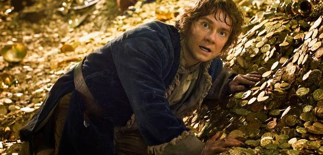 Martin Freeman as Bilbo Baggins in THE HOBBIT: THE DESOLATION OF SMAUG (Image Credit: Warner Bros.)