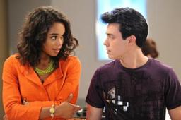 Laura Harrier and Rob Gorrie in ONE LIFE TO LIVE (Image Credit: Prospect Park)