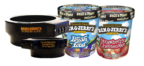 Ben and Jerry's Pint Lock (Image Credit: Ben and Jerry's)