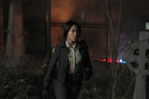 Nicole Beharie as Abbie Mills in SLEEPY HOLLOW (Image Credit: Brownie Harris/FOX)