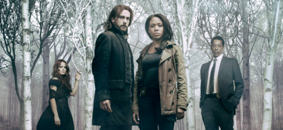 Katia Winters, Tom Mison, Nicole Beharie and Orlando Jones in SLEEPY HOLLOW (Image Credit: Michael Lavine/FOX)