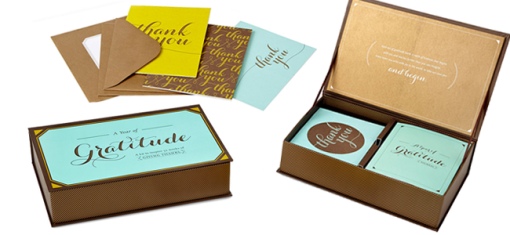 A Year of Gratitude Stationary (Image Credit: Uncommon Goods)
