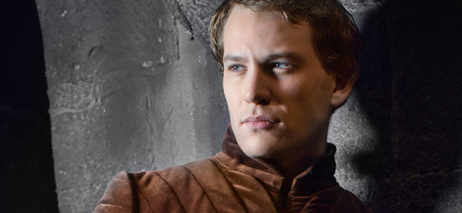 Ben Lamb as Anthony Rivers in THE WHITE QUEEN (Image Credit: Company Pictures)