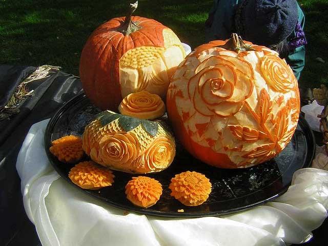 Carved Pumpkins (Image Credit: Valentina Powers)
