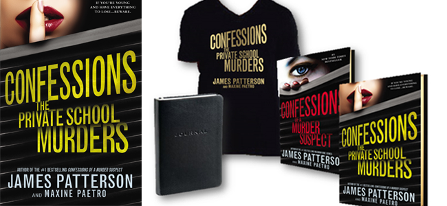 Confessions: The Private School Murders' Book & Prize Pack