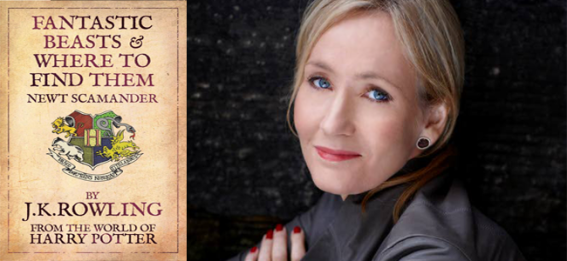 Fantastic Beasts and Where to Find Them (Image Credit: JK Rowling) / Author JK Rowling (Debra Hurford Brown)