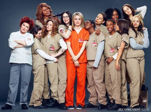 The Cast of ORANGE IS THE NEW BLACK (Image Credit: Jill Greenberg)