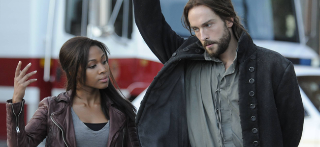 Nicole Beharie and Tom Mison in SLEEPY HOLLOW (Image Credit: Brownie Harris/FOX)