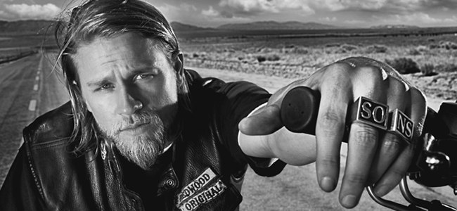 Charlie Hunnam as Jax Teller for SONS OF ANARCHY (Image Credit: FX)