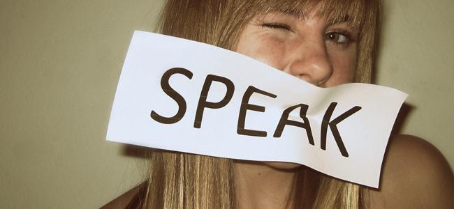 Speak (Image Credit: Alexis Nyal)