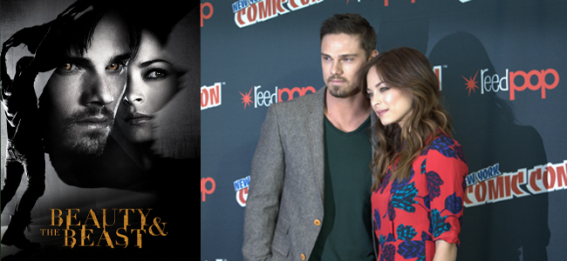 BEAUTY AND THE BEAST PROMO (Image Credit: The CW) / Jay Ryan and Kristin Kreuk (Image Credit: Sean Torenli / The Daily Quirk)