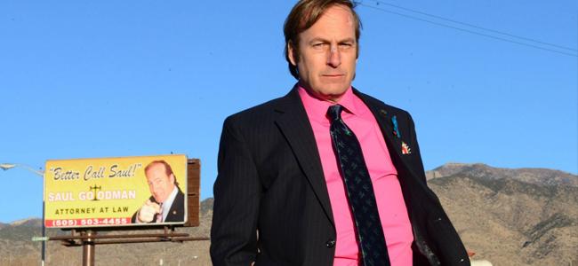 Bob Odenkirk as Saul Goodman in BREAKING BAD (Image Credit: Ursula Coyote/AMC)