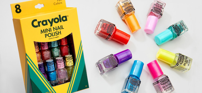 Crayola Mini Nail Polish Set (Image Credit: Fred Flare)