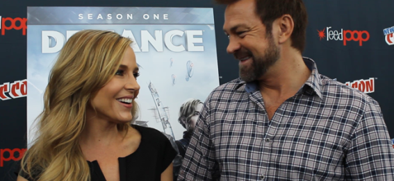 Julie Benz and Grant Bowler (Image Credit: Sean Torenli / The Daily Quirk)