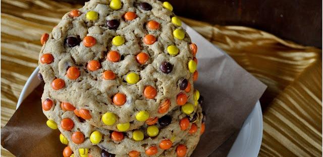 Peanut Butter Monster Cookies